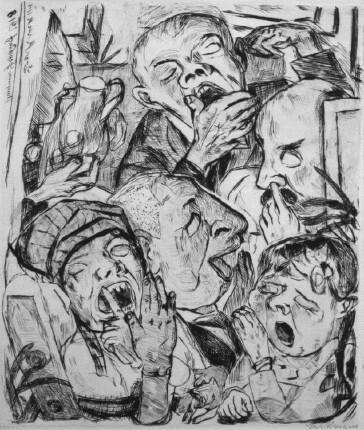 max-beckmann-the-yawners-1918