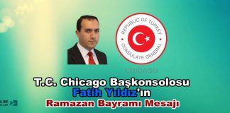 Fatih Yildiz Chicago Baskonsolosu