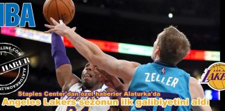 los angeles lakers sezounun ilk galibiyetini aldi