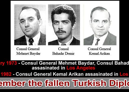remember the fallen Turkish diplomats in los angeles
