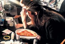 Kendall Jenner Defileden once Pizza
