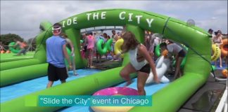 Slide the City Event Chicago