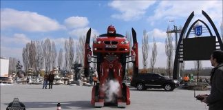 Letrons driveable BMW Transformer