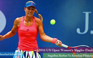 2016 US Open Womens Singles Final Match Kerber Vs Pliskova