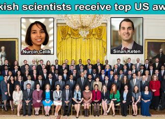 Turkish scientists receive top US Award Nurcin Celik Sinan Keten