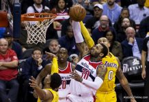 Los Angeles Lakers 95 - Washington Wizards 111