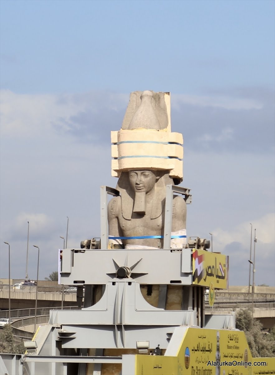 Relocation of Statue of Ramesses II in Egypt (1)