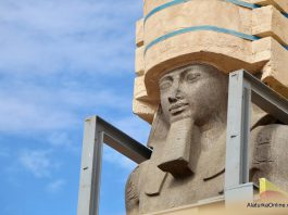 Relocation of Statue of Ramesses II in Egypt (2)