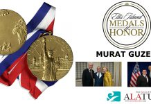 Ellis Island Medals of Honor 2018 Murat Guzel